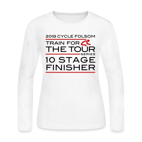 2018 TfT 10 Stage Finisher - Women's Long Sleeve T-Shirt