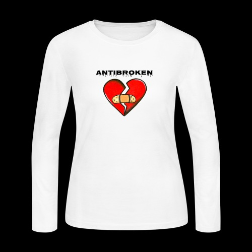 Antibroken merch - Women's Long Sleeve Jersey T-Shirt