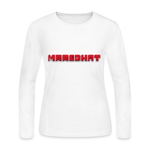 MrRedHat Plain Logo - Women's Long Sleeve Jersey T-Shirt