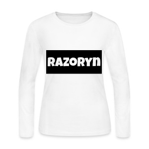 Razoryn Plain Shirt - Women's Long Sleeve Jersey T-Shirt