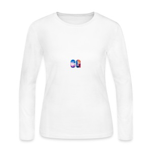 CG_Logo - Women's Long Sleeve Jersey T-Shirt