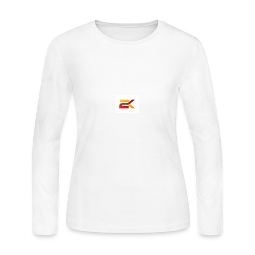 Sam 2K Logo Merch - Women's Long Sleeve Jersey T-Shirt
