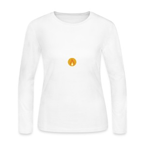 Flame (For cases and Cups) - Women's Long Sleeve Jersey T-Shirt