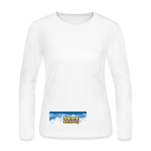 some alaska guy com logo 1 - Women's Long Sleeve Jersey T-Shirt