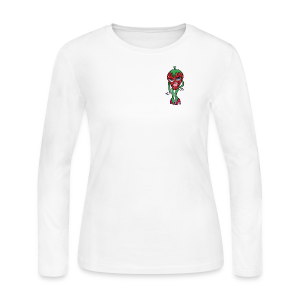 Berry Babe - Women's Long Sleeve Jersey T-Shirt