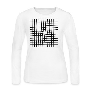 line box - Women's Long Sleeve Jersey T-Shirt
