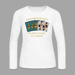 The Imperial Dynasty's Full House - Women's Long Sleeve Jersey T-Shirt