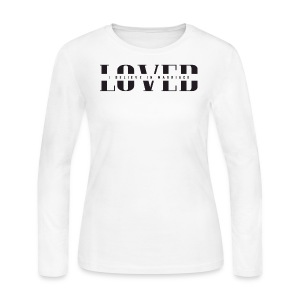 NEW! LOVE with IBIM - Women's Long Sleeve Jersey T-Shirt
