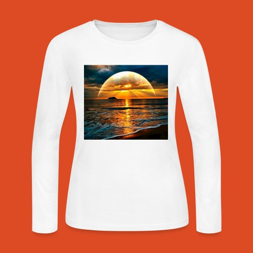 sunrise of the gamers - Women's Long Sleeve Jersey T-Shirt