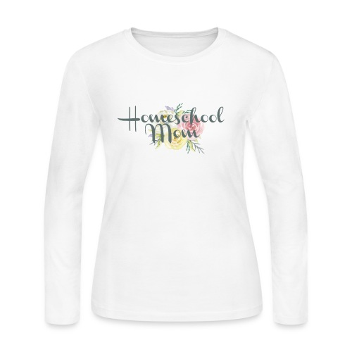 Homeschool Mom - Women's Long Sleeve Jersey T-Shirt