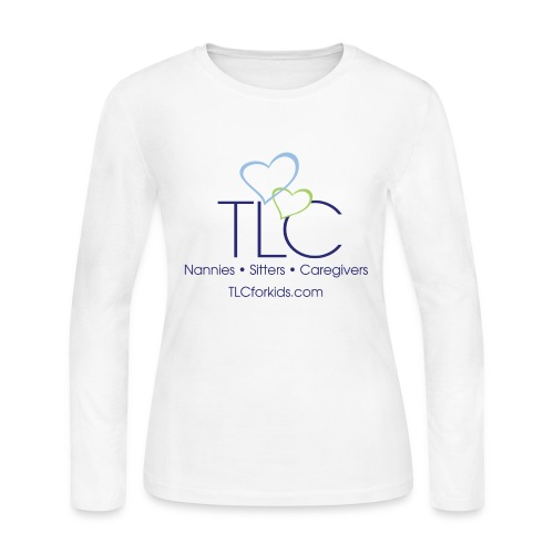 TLC color logo for WHITE SHIRTS ONLY - Women's Long Sleeve Jersey T-Shirt