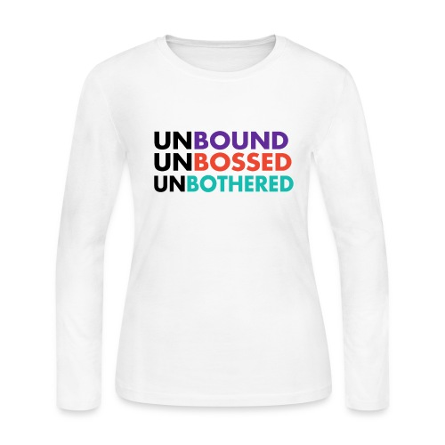 She is UnBound - Women's Long Sleeve Jersey T-Shirt