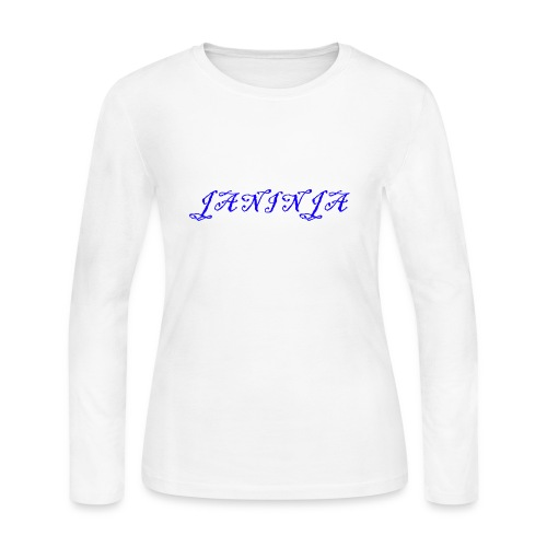 JaNinja Logo - Women's Long Sleeve Jersey T-Shirt