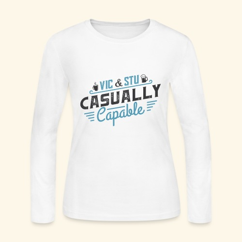 Casually Capable - Women's Long Sleeve Jersey T-Shirt