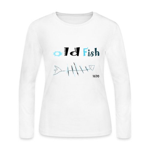 old fish - Women's Long Sleeve Jersey T-Shirt