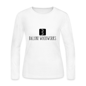 Baloni Woodworks - Women's Long Sleeve Jersey T-Shirt