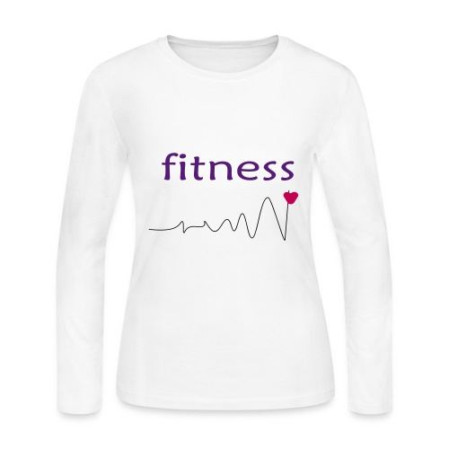 fitness 2 - Women's Long Sleeve Jersey T-Shirt