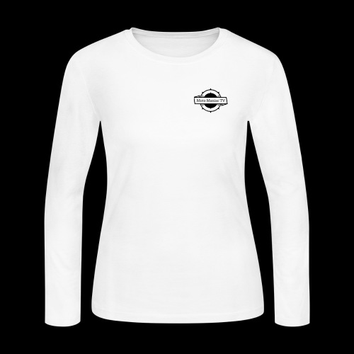 MotoManiac TV - Women's Long Sleeve Jersey T-Shirt