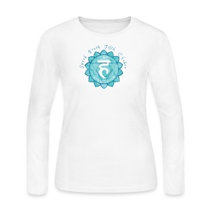 Fifth Chakra - Women's Long Sleeve Jersey T-Shirt