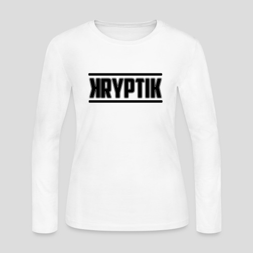 KryptikHD's Logo For YouTube - Women's Long Sleeve Jersey T-Shirt