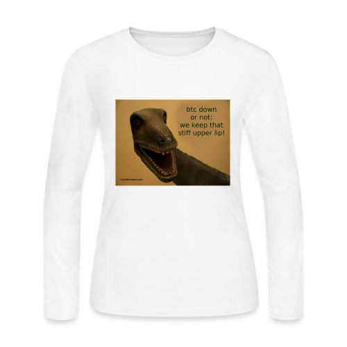 up with the upperlip - Women's Long Sleeve Jersey T-Shirt