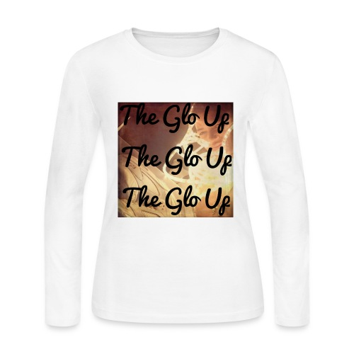 Glo Up - Women's Long Sleeve Jersey T-Shirt