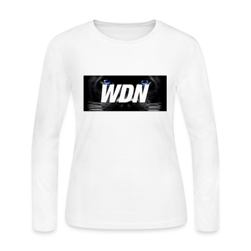 WDN black - Women's Long Sleeve Jersey T-Shirt
