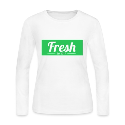 green logo - Women's Long Sleeve Jersey T-Shirt