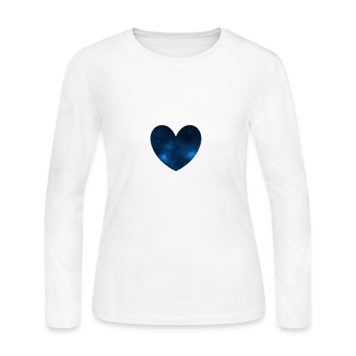 Galaxy Heart - Women's Long Sleeve Jersey T-Shirt
