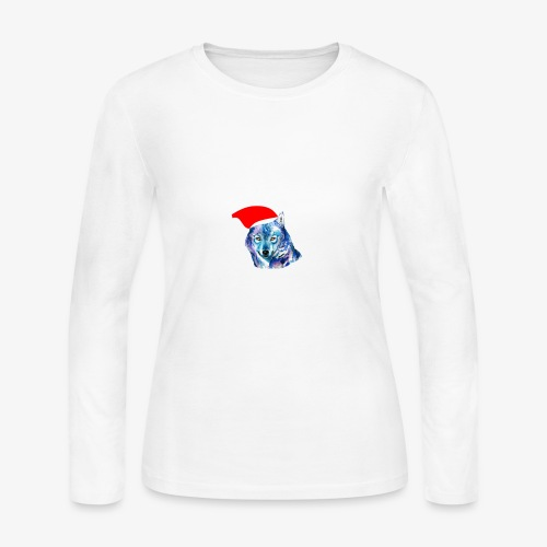 wolf nation chrismas limited time only - Women's Long Sleeve Jersey T-Shirt