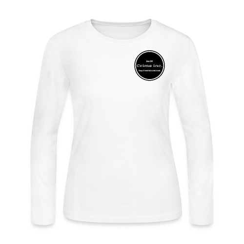 Crime Inc Small Design - Women's Long Sleeve Jersey T-Shirt