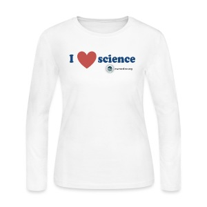Science Love - Women's Long Sleeve Jersey T-Shirt