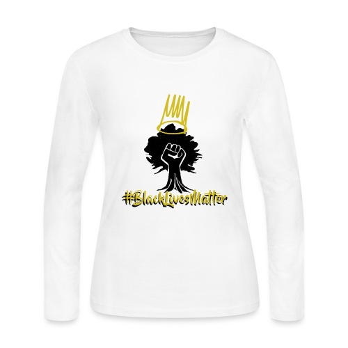 BLM Shirts - Women's Long Sleeve Jersey T-Shirt