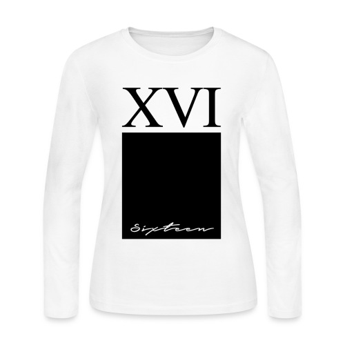 XVI Special Edition Threads - Women's Long Sleeve Jersey T-Shirt