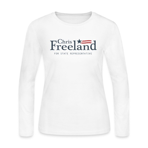 FREELAND FOR STATE REP - Women's Long Sleeve Jersey T-Shirt