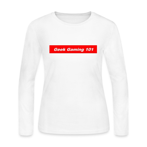 geek gaming bogo - Women's Long Sleeve Jersey T-Shirt