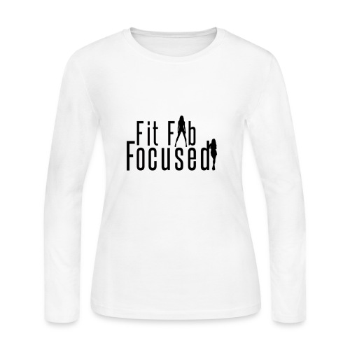 Fit Fab Focused Tee - Women's Long Sleeve Jersey T-Shirt