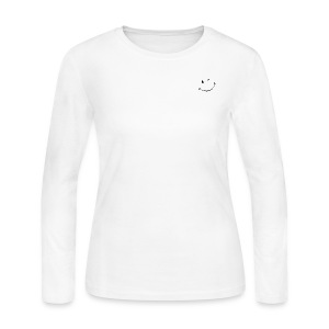 Don't forget to smile - DaniLyn Nicole - Women's Long Sleeve Jersey T-Shirt