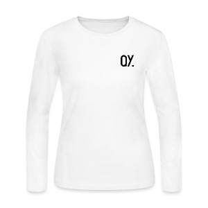 QY. - Women's Long Sleeve Jersey T-Shirt