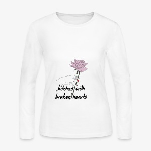 bitches broken hearts - Women's Long Sleeve Jersey T-Shirt