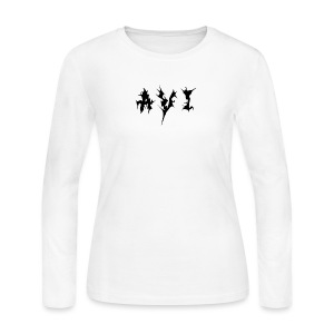 Avi Logo - Women's Long Sleeve Jersey T-Shirt