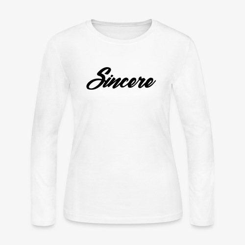 Sincere Apparel - Women's Long Sleeve Jersey T-Shirt