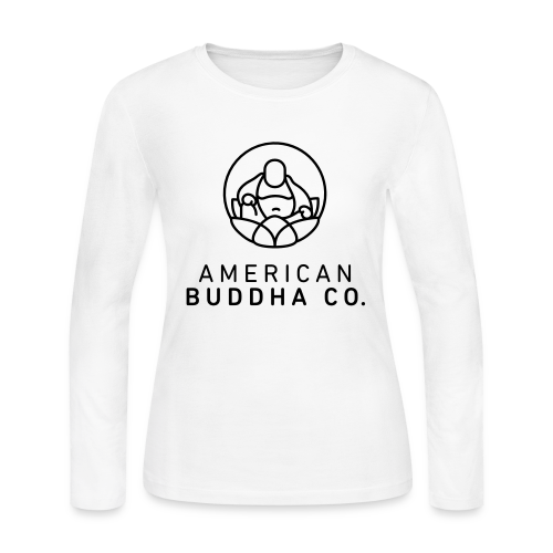 AMERICAN BUDDHA CO. ORIGINAL - Women's Long Sleeve Jersey T-Shirt