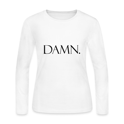 DAMN. - Women's Long Sleeve Jersey T-Shirt