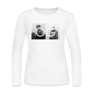 OB OG Magazine - Women's Long Sleeve Jersey T-Shirt