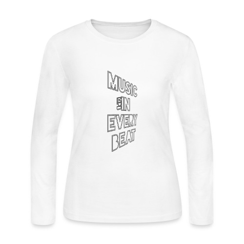 (MPB) Music In Every Beat - Women's Long Sleeve Jersey T-Shirt