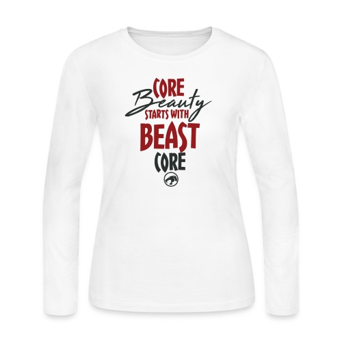 Core Beauty - Women's Long Sleeve Jersey T-Shirt