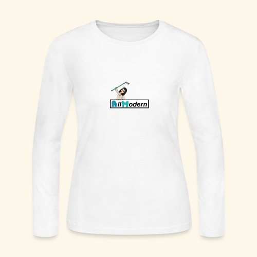 all hockey - Women's Long Sleeve Jersey T-Shirt