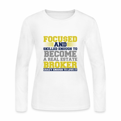 FOCU$ED - Women's Long Sleeve Jersey T-Shirt