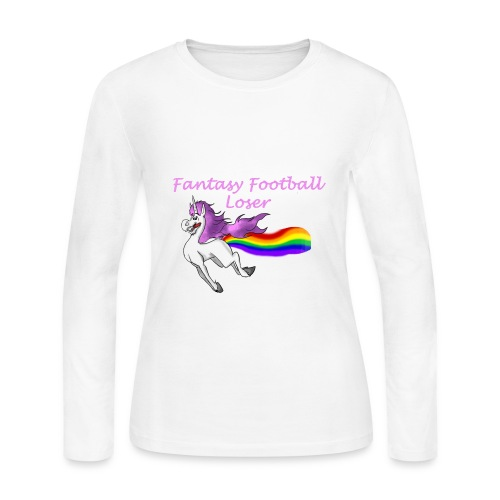 Fantasy Loser - Women's Long Sleeve Jersey T-Shirt